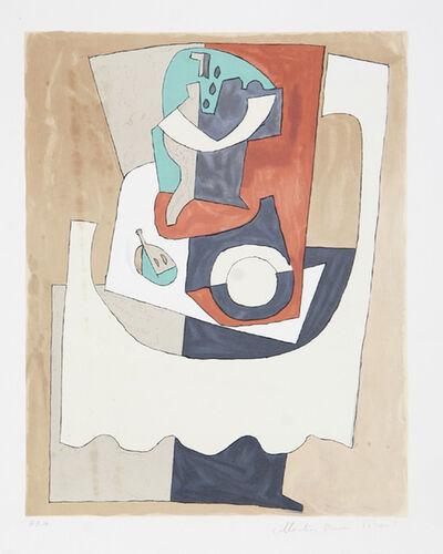 Pablo Picasso, 'Nature Morte au Gueridon et à L'Assiette, 1920', 1979-1982