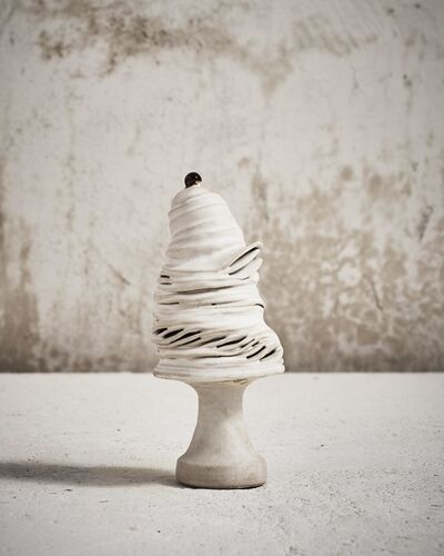 Ingeborg + Bruno Asshoff, 'White Sculpture'