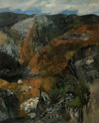 Guy Bardone, 'Montagnes et rochers', 1963