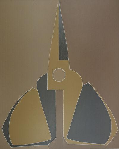 Mao Xuhui 毛旭辉, 'Outline, Yellow-grey Scissors, Upright ', 2007