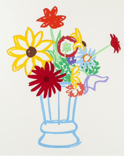 Tom Wesselmann, 'Study for Wildflower Bouquet', 1990