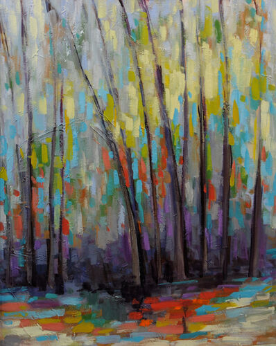 Peyton Hutchinson, 'Abstract Trees III', 2019