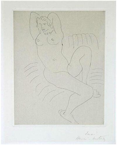Henri Matisse, 'NU AU FAUTEUIL RAYE', 1929