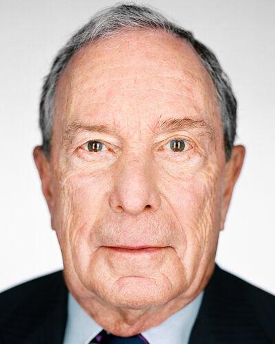 Martin Schoeller, 'Michael Bloomberg', 2018