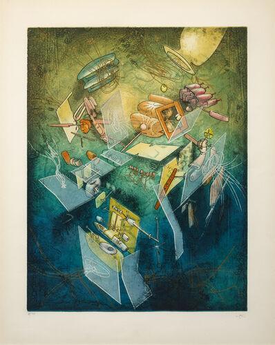 Roberto Matta, 'Oeuvre L'Instant', 1977