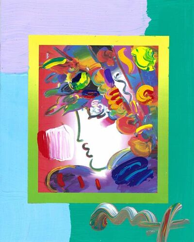 Peter Max, 'Blushing Beauty on Blends (Ref. # 2273)', 2007
