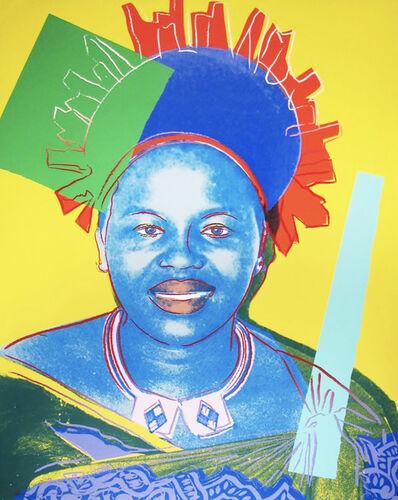 Andy Warhol, 'Andy Warhol, Set of Four Queen Ntombi Twala of Swaziland', 1985