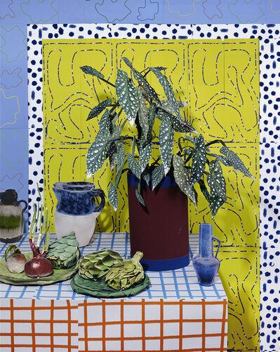 Daniel Gordon, 'Begonia and Artichoke, 2021', 2021