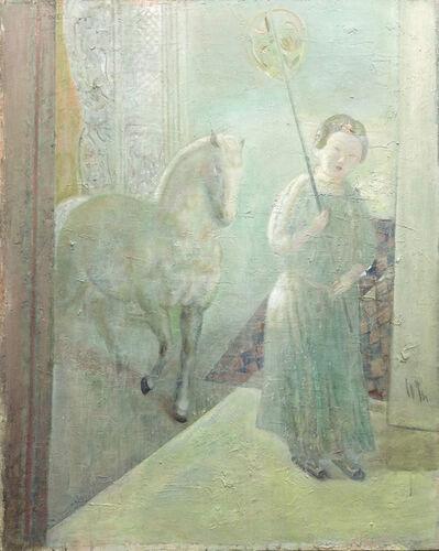 Leng Hong 冷宏, 'Caress of the Moon-13 II 樓靜月侵門', 2015
