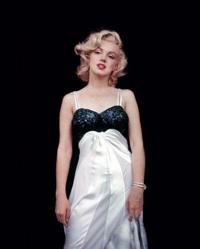 Milton H. Greene, 'Marilyn Monroe, Black Sitting', 1956