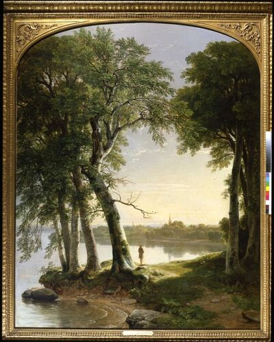 Asher B. Durand, 'Early Morning at Cold Spring', 1850
