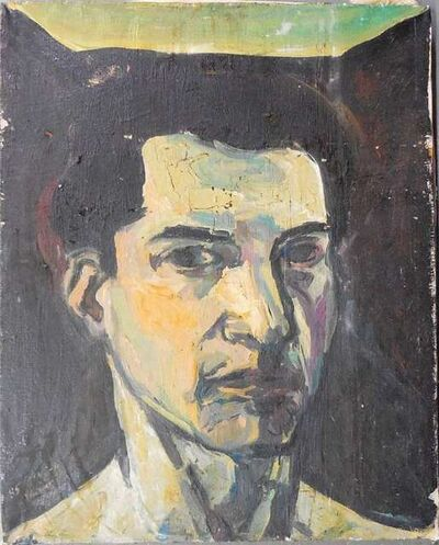 Elie Shamir, 'portrait of a man', 1980-1989