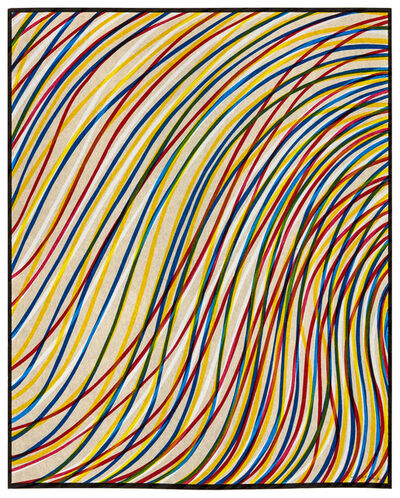 Sol LeWitt, 'Wavy Lines on Gray from Sequences', 1998