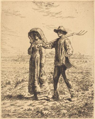 Jean-François Millet, 'Departure for Work (Le depart pour le travail)', 1863