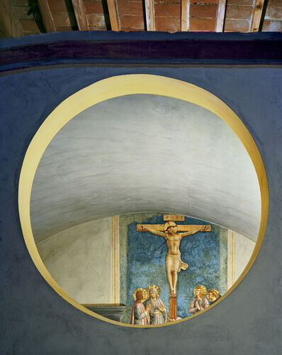 Robert Polidori, 'The Mocking of Christ by Fra Angelico, Cell 7, Museum of San, Marco Convent, Florence, Italy', 2010