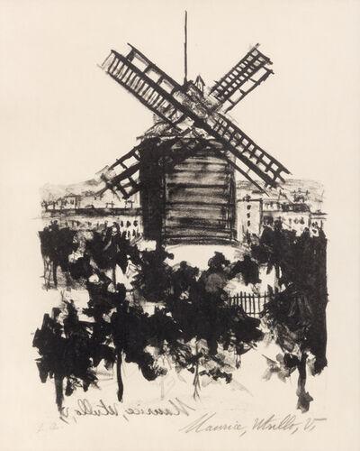 Maurice Utrillo, 'Moulin de la Galette, Montmartre', 1926