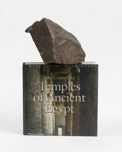 Matt Johnson, 'A Rock on Top of The Complete Temples of Ancient Egypt', 2019