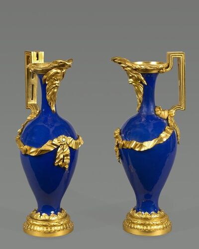 Unknown Artist, 'A beautiful pair of Louis XVI ewers'