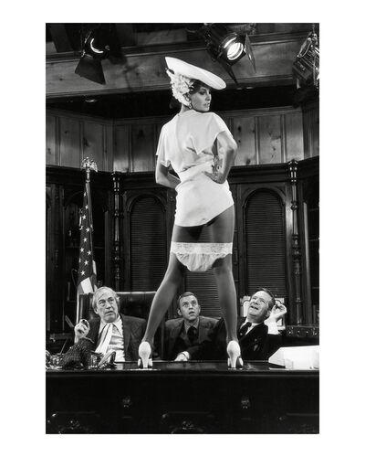Terry O'Neill, 'Raquel Welch on set of Myra Breckenridge, Los Angeles', 1970