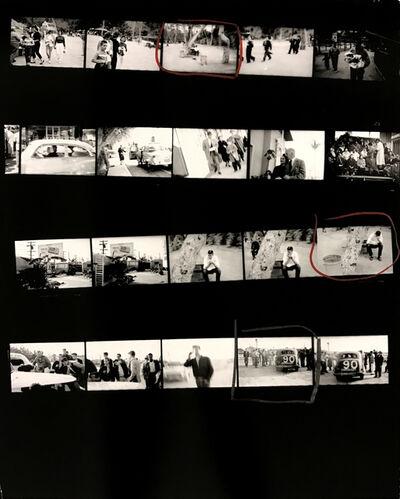 Robert Frank, 'Contact Sheet #75 (Picnic Ground, Glendale, California)', 2009