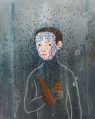 Anne Siems, 'The Boy and Squirrel', 2018