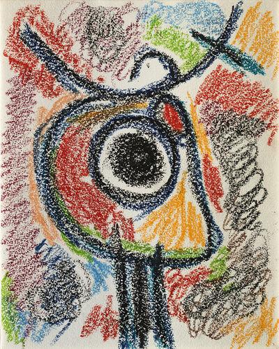 Joan Miró, 'Personnage et oiseau'