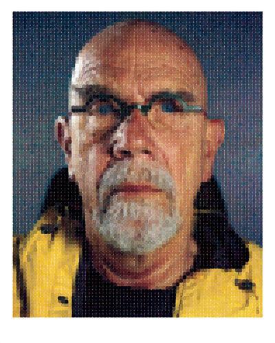 Chuck Close, 'Self-Portrait (Yellow Raincoat)', 2013