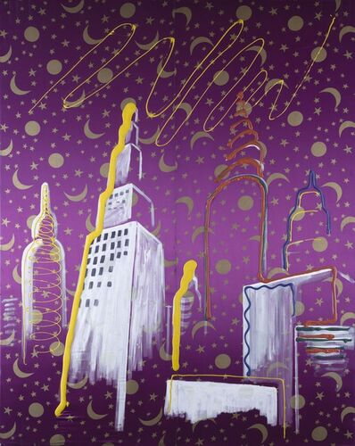 Sigmar Polke, 'Skyscrapers', 1961