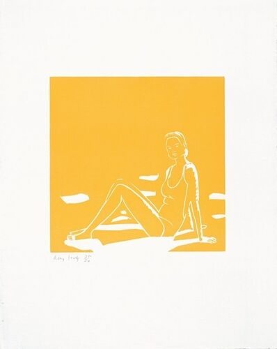 Alex Katz, 'Ursula (Orange)', 1993