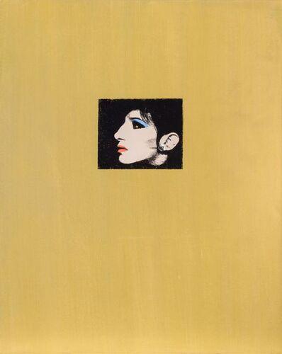 Deborah Kass, 'Gold Barbra (Jewish Jackie Series)', 1993