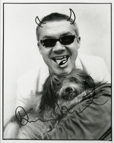Damien Hirst, 'Self portrait with dog', c2002