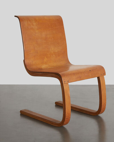 "Alvar Aalto, '""Cantilever Chair,"" Model no. 21', Designed 1932, produced c. 1938, 1947"