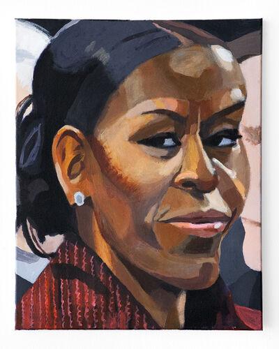Woodrow White, 'Michelle Obama', 2017