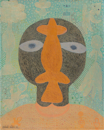 Madhvi Parekh, 'Head A (This set consists of 2 works)', 1976