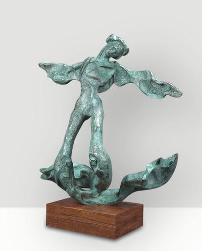 Salvador Dalí, 'Winged Triton: God of the Sea (prestige-scale)', 1973