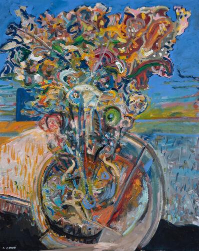 Yehouda Chaki, 'Blue Window 1868', 2019