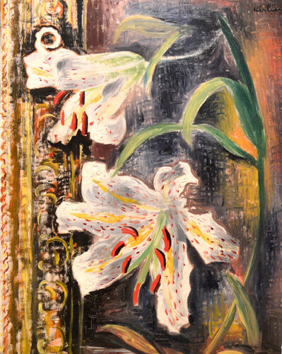 Moise Kisling, 'Retrospective Flowers', 1972