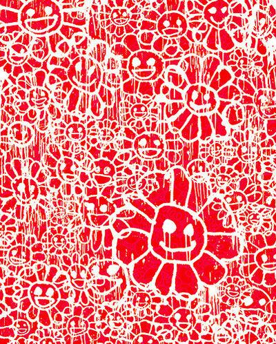 MADSAKI, 'FLOWERS B RED BY MADSAKI X TAKASHI MURAKAMI '