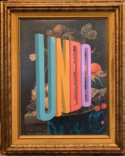 Wayne White, 'UNDO', 2020