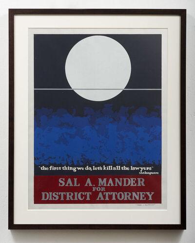 Thomas W. Benton, 'Sal A. Mander ', 1980