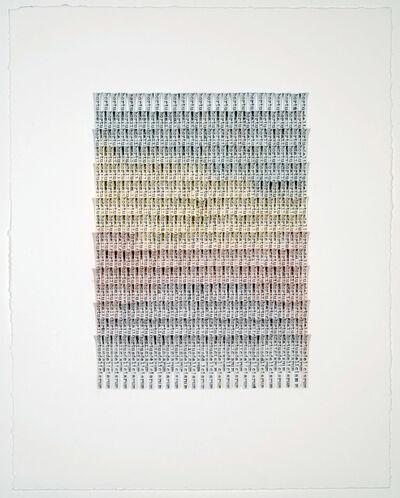 Meg Hitchcock, 'Hortus Deliciarum II', 2019