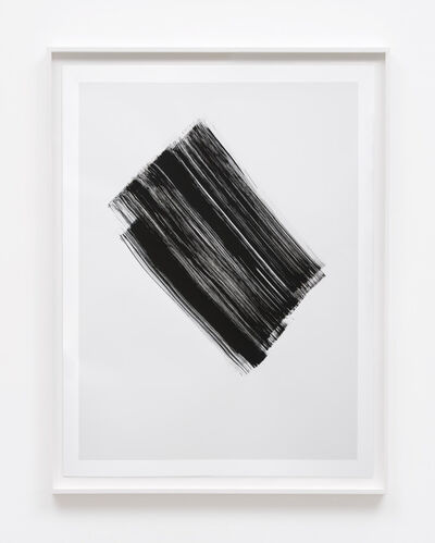 Phil Chang, 'Replacement Ink for Epson Printers (Matte Black on 10% Grey 344301) on Epson Enhanced Matte Paper', 2017