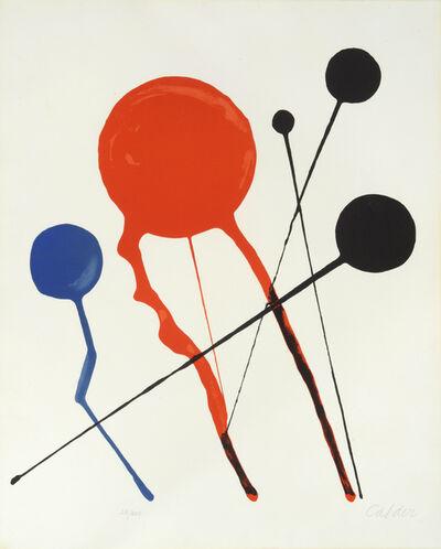Alexander Calder, 'Comètes', 1969-1970