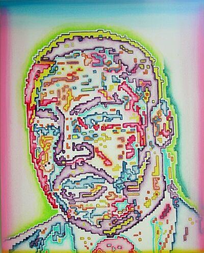 Linda Vallejo, 'Electric Hero: Martin Luther King Jr', 2009