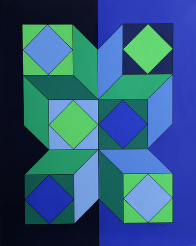 Victor Vasarely, 'VY-29-C', 1973