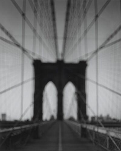 Hiroshi Sugimoto, 'Brooklyn Bridge - John & Washington Roebling'
