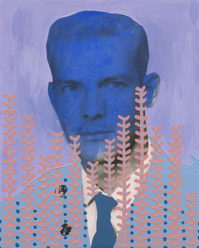 Daisy Patton, 'Untitled (Military Man with Blue Face)', 2018