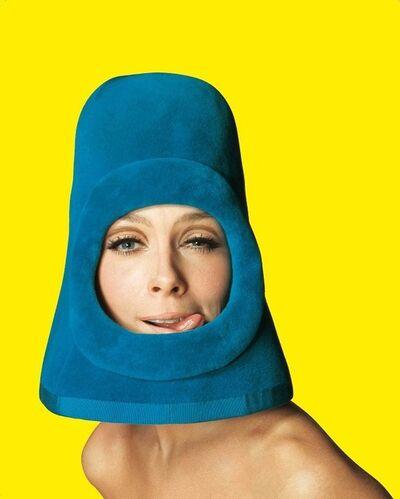 Jean-Daniel Lorieux, 'Olga, Fashion by Pierre Cardin. Ragazza pop cover, Rome', 1972