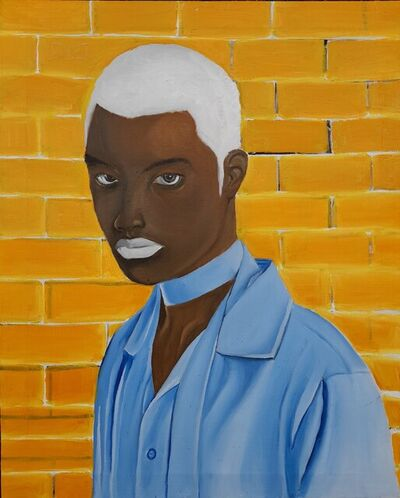 Kenechukwu Victor, 'Black and Orange', 2021