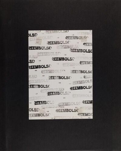 pere noguera, 'Untitled [Reembolso]', 1974